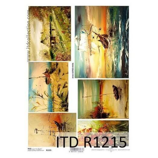 Ριζόχαρτο ITD Collection, 21x29cm, R1215