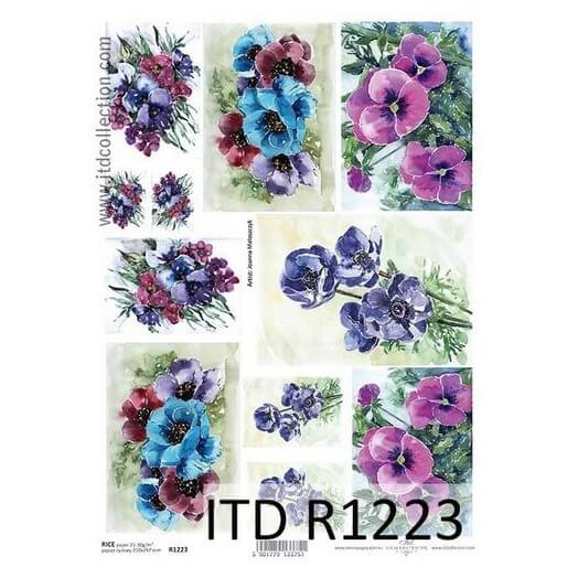 Ριζόχαρτο ITD Collection, 21x29cm, R1223