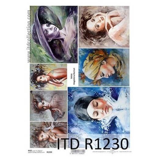Ριζόχαρτο ITD Collection, 21x29cm, R1230