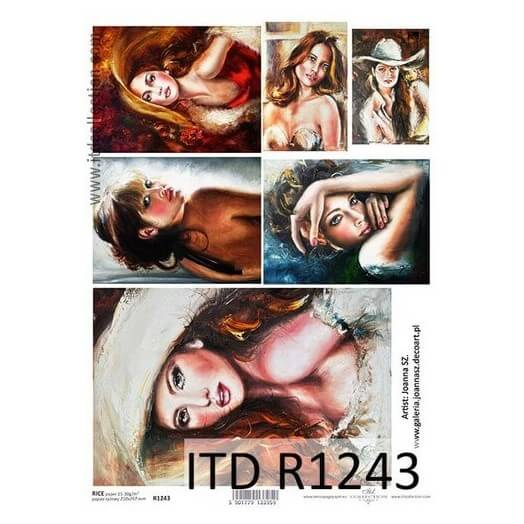 Ριζόχαρτο ITD Collection, 21x29cm, R1243
