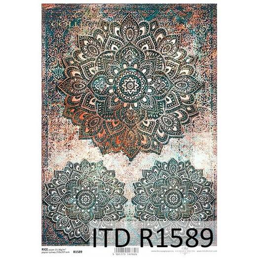 Ριζόχαρτο ITD, 21x29cm, Μάνταλα, R1589