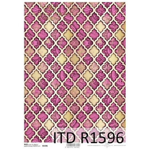 Ριζόχαρτο ITD, 21x29cm, Ανατολίτικη Ταπετσαρία, R1596
