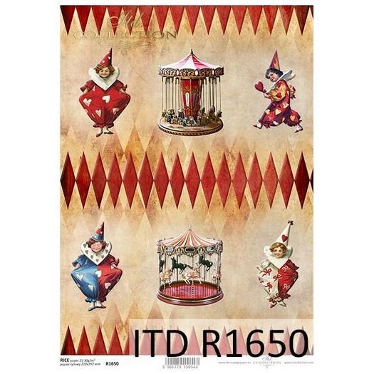 Ριζόχαρτο ITD, 21x29cm, Πιερρότοι R1650