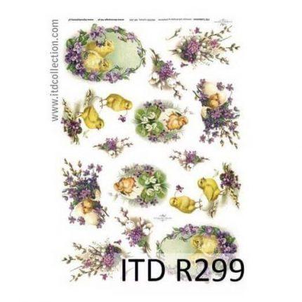 Ριζόχαρτο Πασχαλινό ITD, 21x29cm R299