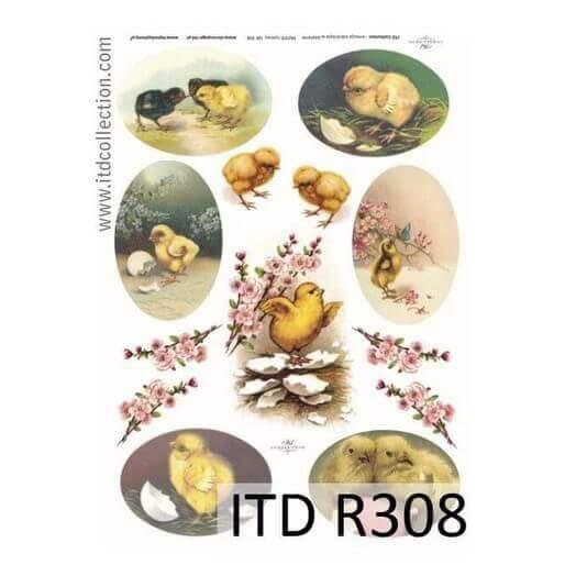 Ριζόχαρτο Πασχαλινό ITD, 21x29cm