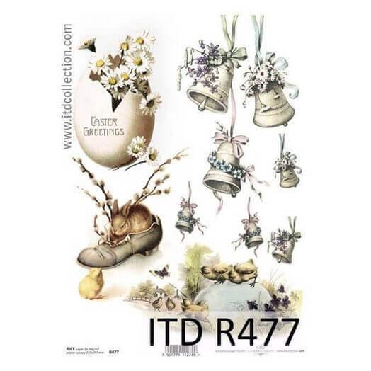 Ριζόχαρτο Πασχαλινό ITD, 21x29cm R477