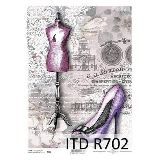 Ριζόχαρτο ITD, 21x29cm, Ατελιέ, R702
