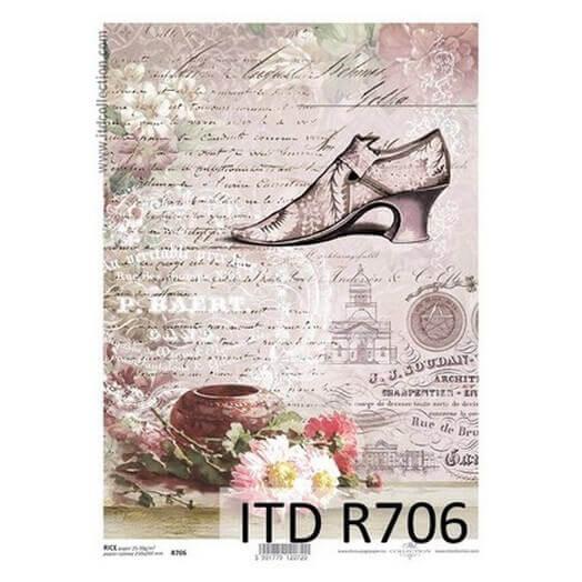 Ριζόχαρτο ITD, 21x29cm, Γοβάκι, R706