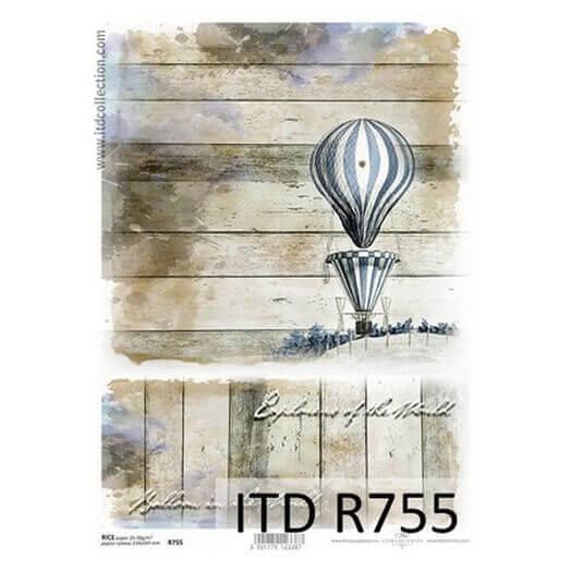 Ριζόχαρτο ITD, 21x29cm, Αερόστατο, R755
