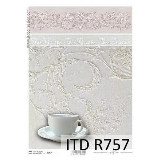 Ριζόχαρτο ITD, 21x29cm, Coffee Break, R757