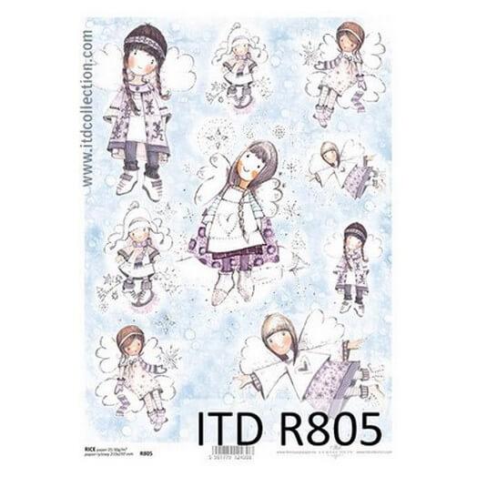 Ριζόχαρτο ITD, Αγγελάκια, 21x29cm