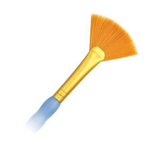 Πινέλο συνθετικό Fun Brush No1