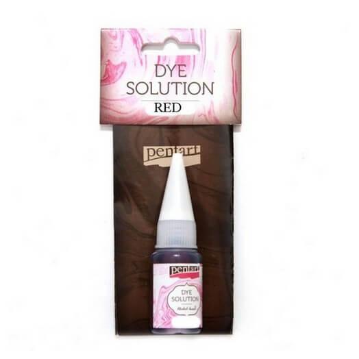 Dye Solution 10ml Pentart - Red