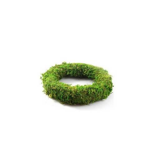 Στεφάνι φυσικό Flat moss 17cm