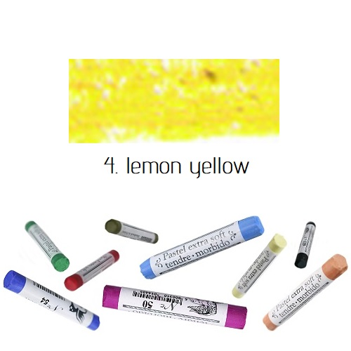 Soft pastel Extrafine Renesans - Lemon Yellow