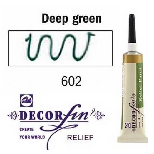 Relief 20ml Decorfin 602 Deep Green