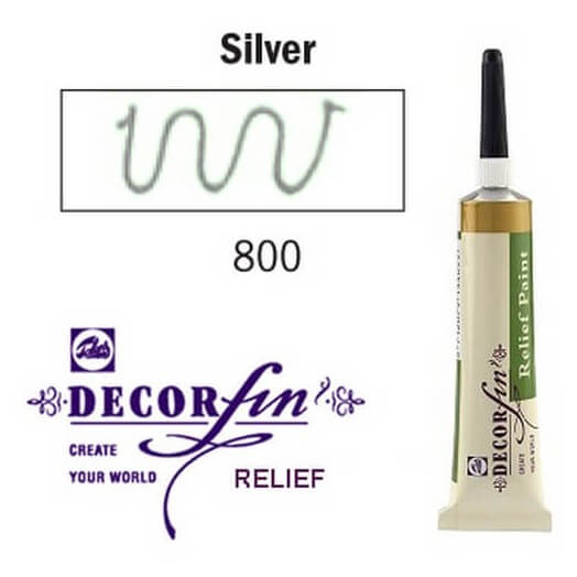 Relief 20ml Decorfin 800 Silver