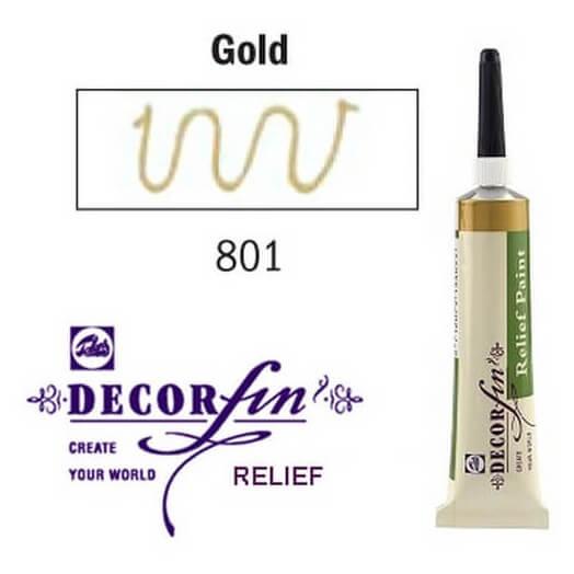 Relief 20ml Decorfin 801 Gold