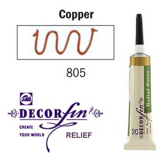 Relief 20ml Decorfin 805 Copper