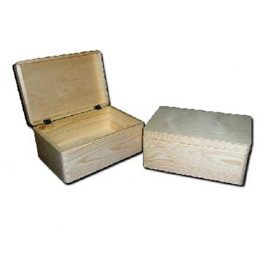 Μπαούλο ξύλινο 300 x 200 x 150 mm