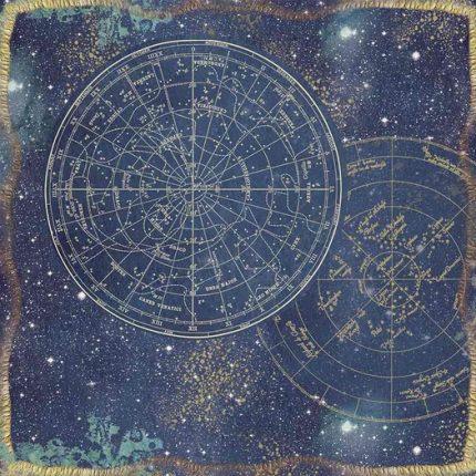 Χαρτιά scrapbooking 10τεμ Stamperia, Cosmos