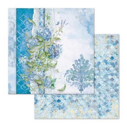 Χαρτιά scrapbooking 10τεμ Stamperia 20,3x20,3cm, Flowers for you