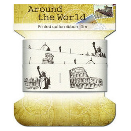 Κορδέλα Printed World 25mm x 2m