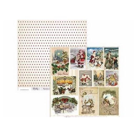 Χαρτί Scrapbooking Dayka 30,5x30,5cm , Christmas