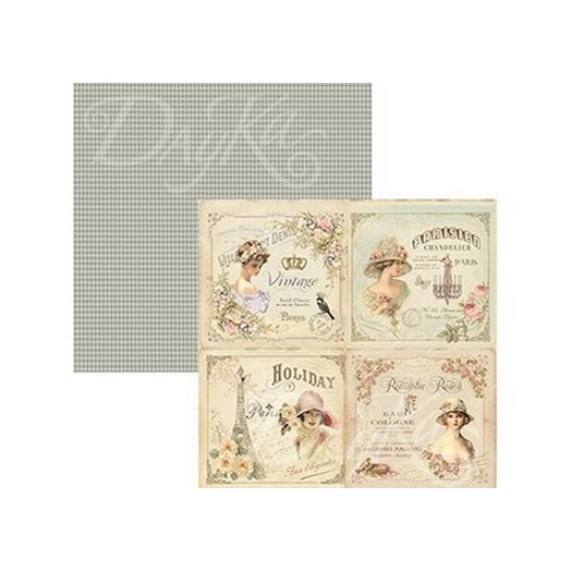 Χαρτί Scrapbooking Dayka 30,5x30,5cm