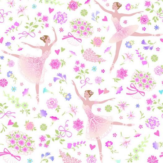 Χαρτοπετσέτα για Decoupage, Flower dancers, 1τεμ