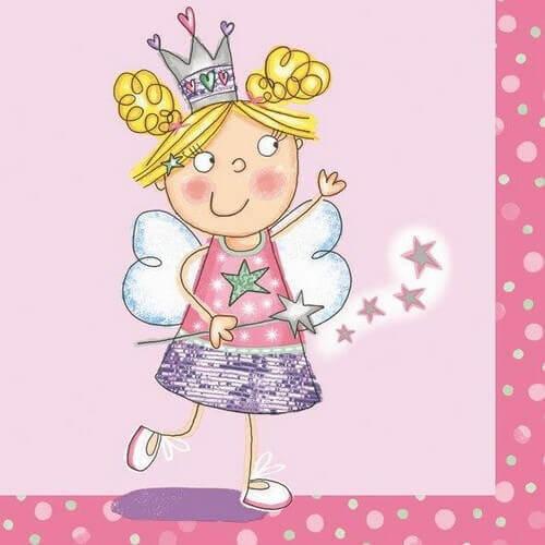 Χαρτοπετσέτα για decoupage, Magic Fairy