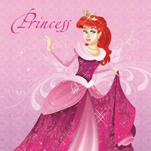Χαρτοπετσέτα για Decoupage, Princess, 1τεμ