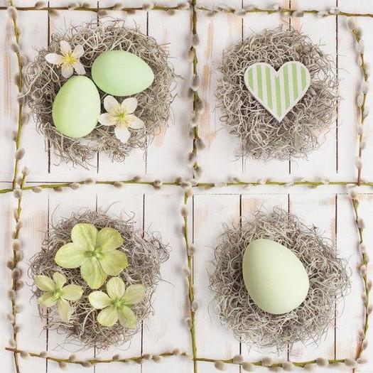 Χαρτοπετσέτα για Decoupage, Nests, 1τεμ