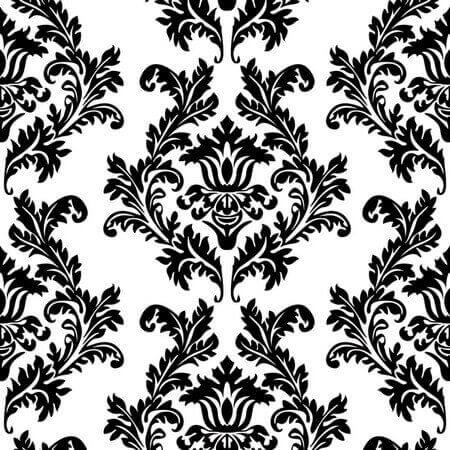 Χαρτοπετσέτα για Decoupage White & Black Wallpaper, 1τεμ.