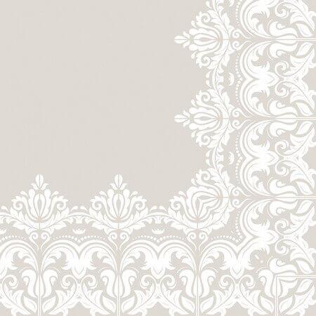 Χαρτοπετσέτα για Decoupage Ornament Border Beige, 1τεμ.