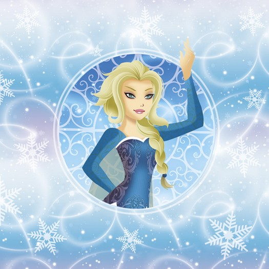 Χαρτοπετσέτα για Decoupage, Snow Princess, 1τεμ