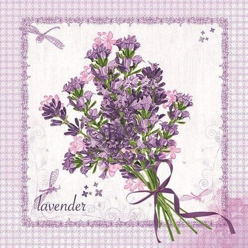 Χαρτοπετσέτα για decoupage, Bunch of Lavender
