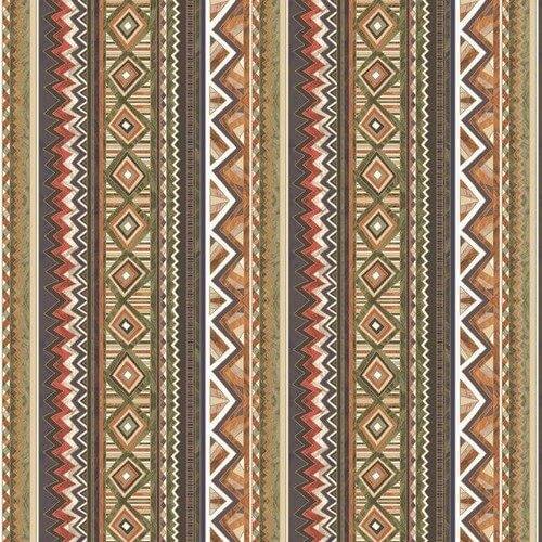 Χαρτοπετσέτα για decoupage, Ethnic Graphics in Stripes