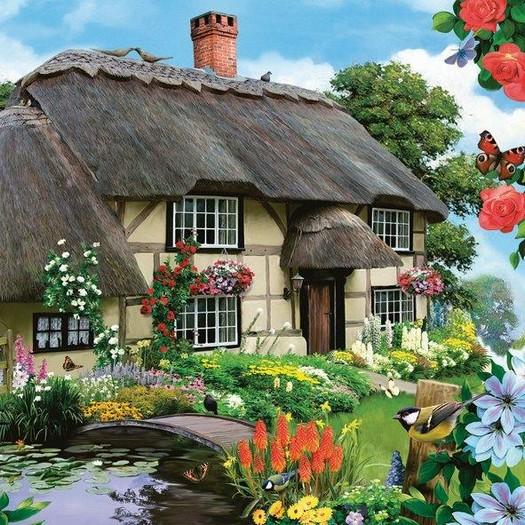 Χαρτοπετσέτα για Decoupage, Home and garden, 1τεμ