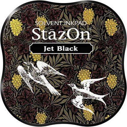 Μελάνι Ανεξίτηλο για σφραγίδες, Stazon Jet Black