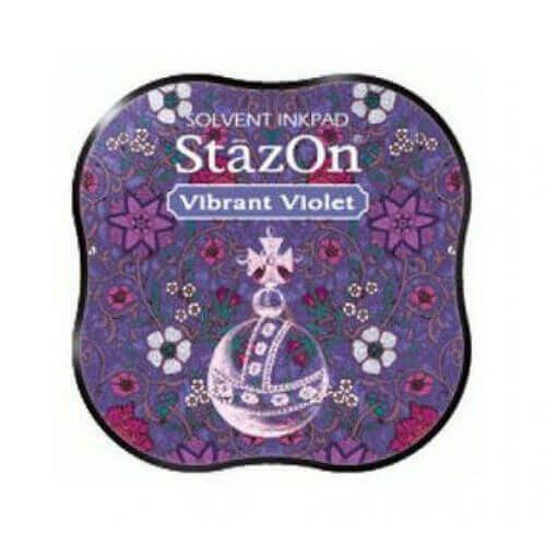 Μελάνι Ανεξίτηλο για σφραγίδες, Stazon Vibrant Violet
