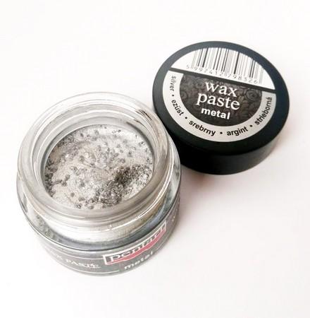 Πατίνα Wax paste Metallic 20ml Pentart - Silver
