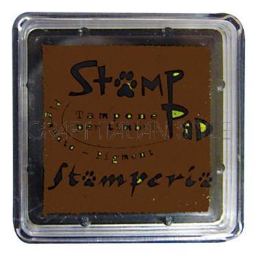 Μελάνι για σφραγίδες, 24x24 mm Stamperia, Brown