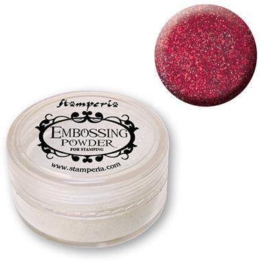 Σκόνη Embossing 7 gr Stamperia - Red
