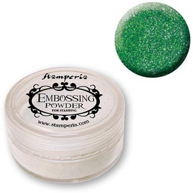 Σκόνη Embossing 7 gr Stamperia - Green