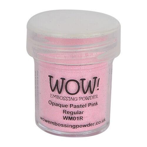 Σκόνη Embossing 15ml WOW, Pastel Pink