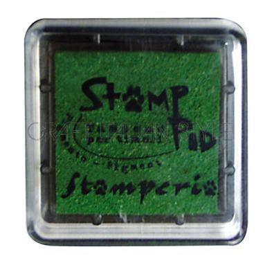 Μελάνι για σφραγίδες, 24x24 mm Stamperia, Green