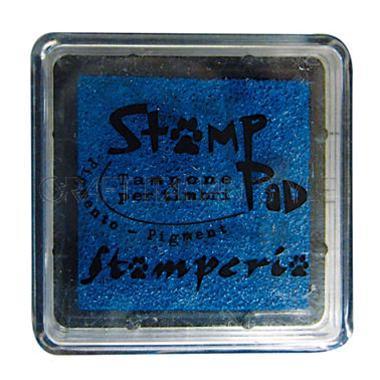 Μελάνι για σφραγίδες, 24x24 mm Stamperia, Blue