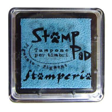 Μελάνι για σφραγίδες, 24x24 mm Stamperia, Light blue