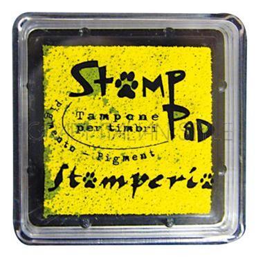 Μελάνι για σφραγίδες, 24x24 mm Stamperia, Yellow